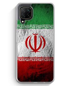 Huawei P40 lite Hülle - Iran Splash Flagge