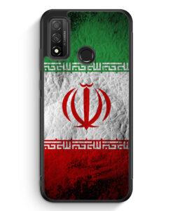 Huawei P Smart 2020 Silikon Hülle - Iran Splash Flagge