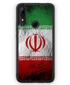 Huawei P Smart Z Silikon Hülle - Iran Splash Flagge