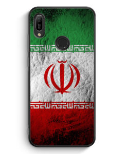 Huawei Y6s Silikon Hülle - Iran Splash Flagge