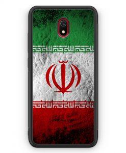 Xiaomi Redmi 8A Silikon Hülle - Iran Splash Flagge