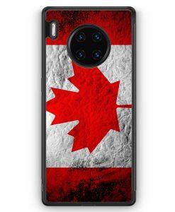 Huawei Mate 30 Pro Silikon Hülle - Kanada Splash Flagge