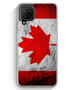 Huawei P40 lite Hülle - Kanada Splash Flagge