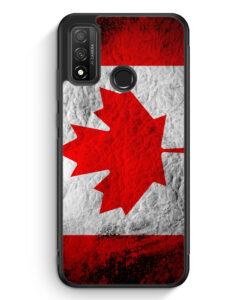 Huawei P Smart 2020 Silikon Hülle - Kanada Splash Flagge