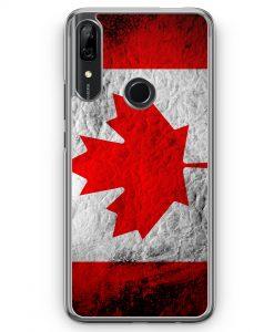 Huawei P Smart Z Hülle - Kanada Splash Flagge