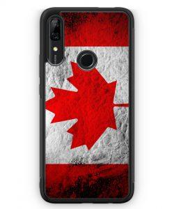 Huawei P Smart Z Silikon Hülle - Kanada Splash Flagge