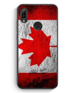 Huawei Y6s Silikon Hülle - Kanada Splash Flagge