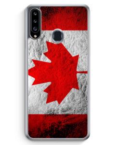Samsung Galaxy A20s Hülle - Kanada Splash Flagge