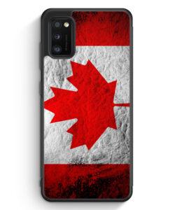 Samsung Galaxy A31 Silikon Hülle - Kanada Splash Flagge