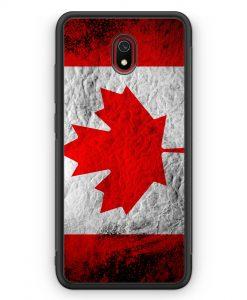 Xiaomi Redmi 8A Silikon Hülle - Kanada Splash Flagge