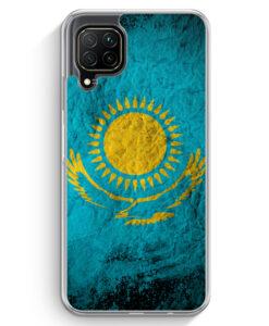 Huawei P40 lite Hülle - Kasachstan Splash Flagge