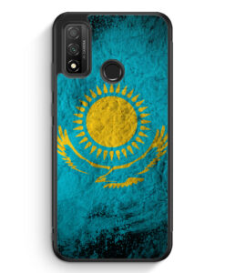 Huawei P Smart 2020 Silikon Hülle - Kasachstan Splash Flagge