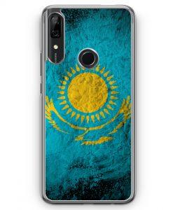 Huawei P Smart Z Hülle - Kasachstan Splash Flagge