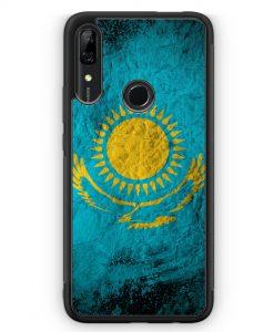 Huawei P Smart Z Silikon Hülle - Kasachstan Splash Flagge