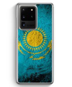 Samsung Galaxy S20 Ultra Hülle - Kasachstan Splash Flagge