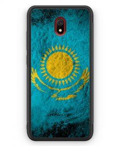 Xiaomi Redmi 8A Silikon Hülle - Kasachstan Splash Flagge