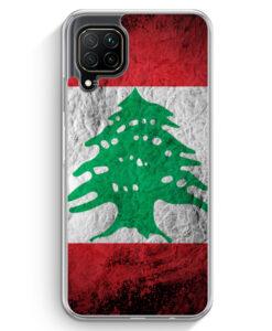 Huawei P40 lite Hülle - Libanon Splash Flagge