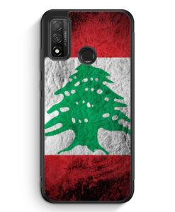 Huawei P Smart 2020 Silikon Hülle - Libanon Splash Flagge