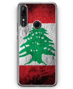 Huawei P Smart Z Hülle - Libanon Splash Flagge