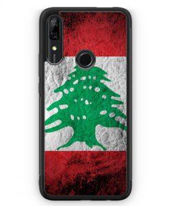 Huawei P Smart Z Silikon Hülle - Libanon Splash Flagge
