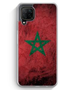 Huawei P40 lite Hülle - Marokko Splash Flagge