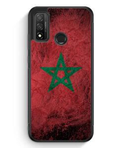 Huawei P Smart 2020 Silikon Hülle - Marokko Splash Flagge