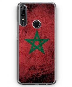 Huawei P Smart Z Hülle - Marokko Splash Flagge