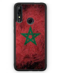 Huawei P Smart Z Silikon Hülle - Marokko Splash Flagge