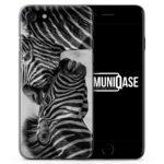 Zebra Foto - Slim Handyhülle für iPhone 7