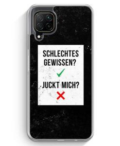 Huawei P40 lite Hülle - Schlechtes Gewissen? Juckt Mich?