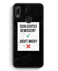 Huawei Y6s Silikon Hülle - Schlechtes Gewissen? Juckt Mich?