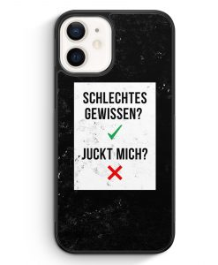iPhone 12 mini Silikon Hülle - Schlechtes Gewissen? Juckt Mich?
