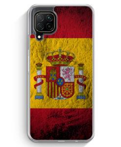 Huawei P40 lite Hülle - Spanien Splash Flagge