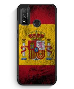 Huawei P Smart 2020 Silikon Hülle - Spanien Splash Flagge