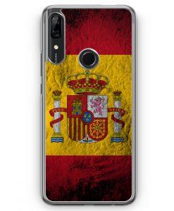 Huawei P Smart Z Hülle - Spanien Splash Flagge