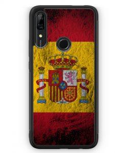 Huawei P Smart Z Silikon Hülle - Spanien Splash Flagge