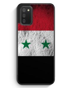 Syrien Splash Flagge - Silikon Hülle für Samsung Galaxy A02s