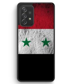 Syrien Splash Flagge - Silikon Hülle für Samsung Galaxy A32