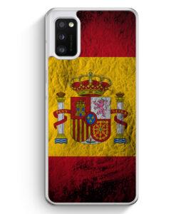 Samsung Galaxy A41 Hülle - Spanien Splash Flagge