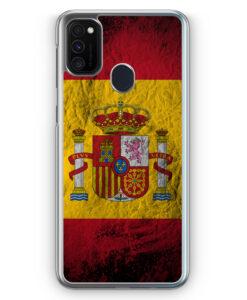 Samsung Galaxy M21 Hülle - Spanien Splash Flagge