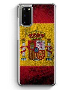 Samsung Galaxy S20 Hülle - Spanien Splash Flagge