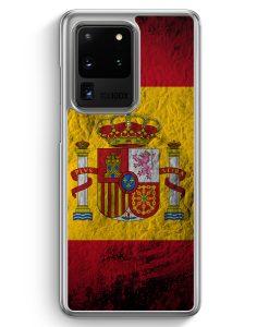 Samsung Galaxy S20 Ultra Hülle - Spanien Splash Flagge