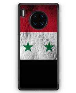 Huawei Mate 30 Pro Silikon Hülle - Syrien Splash Flagge
