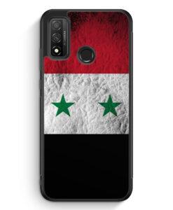 Huawei P Smart 2020 Silikon Hülle - Syrien Splash Flagge