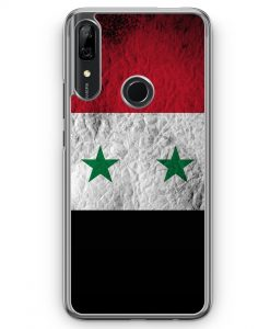 Huawei P Smart Z Hülle - Syrien Splash Flagge