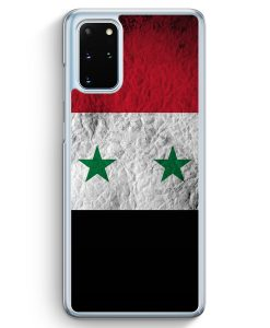 Samsung Galaxy S20+ Plus Hülle - Syrien Splash Flagge