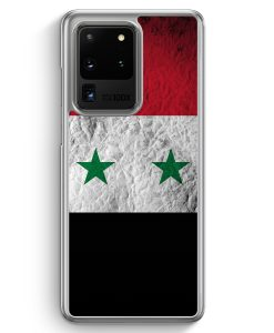 Samsung Galaxy S20 Ultra Hülle - Syrien Splash Flagge