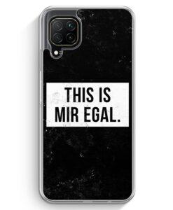 Huawei P40 lite Hülle - This Is Mir Egal