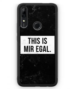 Huawei P Smart Z Silikon Hülle - This Is Mir Egal