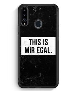 Samsung Galaxy A20s Silikon Hülle - This Is Mir Egal